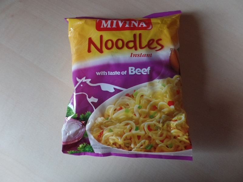 """#832: Mivina """"Instant Noodles with Taste of Beef"""""""