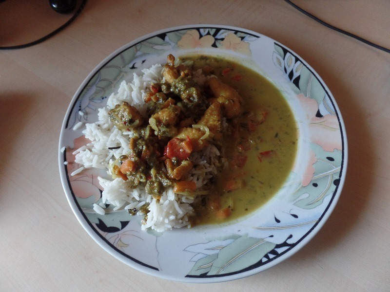 "#834: Youcook ""Grünes Thai Curry"""