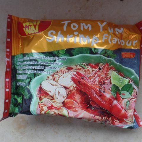 """#836: Wai Wai """"Instant Noodles Tom Yum Shrimp Flavour"""""""