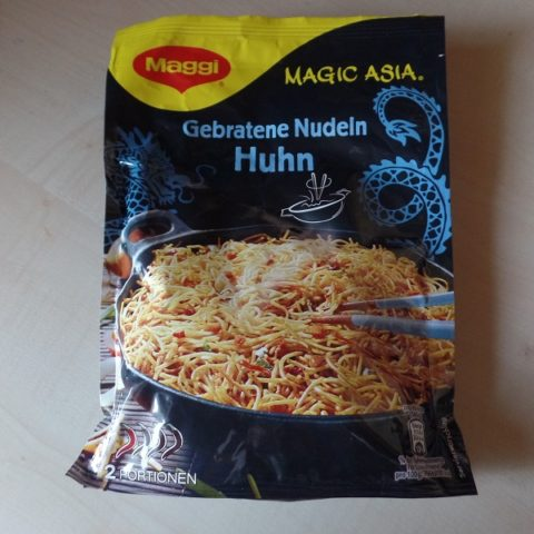 "#838: Maggi Magic Asia ""Gebratene Nudeln Huhn"""