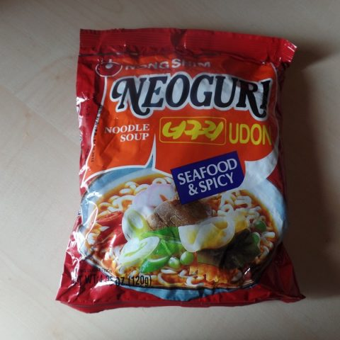 "#839: Nongshim ""Neoguri Udon Noodle Soup"" Seafood & Spicy"