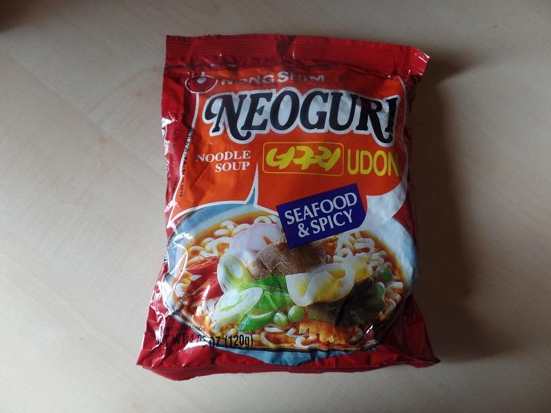 "#839: Nongshim ""Neoguri Udon Noodle Soup"" Seafood & Spicy"