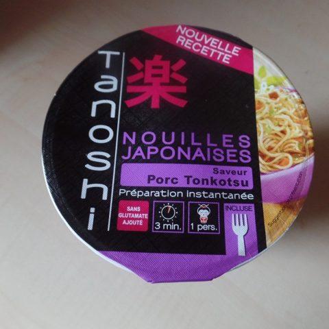 "#845: Tanoshi ""Nouilles Japonaises"" Saveur Porc Tonkotsu"