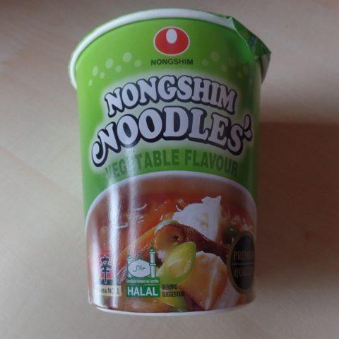 """#847: Nongshim Noodles """"Vegetable Flavour"""" Cup"""