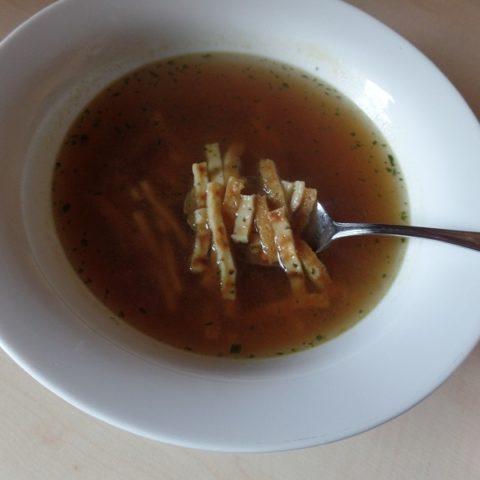 """#851: Knorr Feinschmecker """"Schwäbische Flädle Suppe"""""""