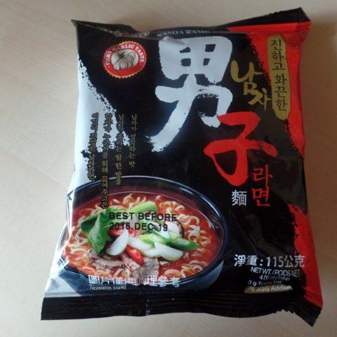 "#654: Paldo ""Namja Ramen"" (Fiery Garlic Taste)"