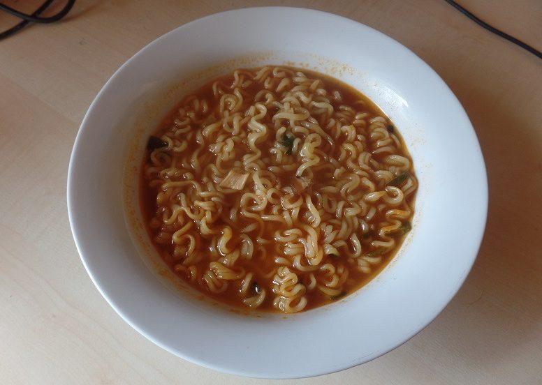 """#654: Paldo """"Namja Ramen - Fiery Garlic Taste"""" (Update 2021)"""