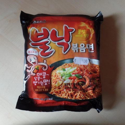 "#867: Paldo ""Bulnak Bokkummyun"" (Spicy Fried Octopus Ramyun)"