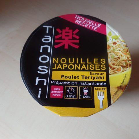 "#868: Tanoshi Nouilles Japonaises ""Saveur Poulet Teriyaki"""
