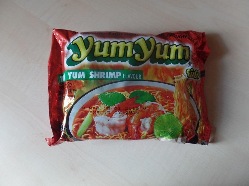 "#872: YumYum Authentic Thai Style Instant Noodles ""Tom Yum Shrimp Flavour"""