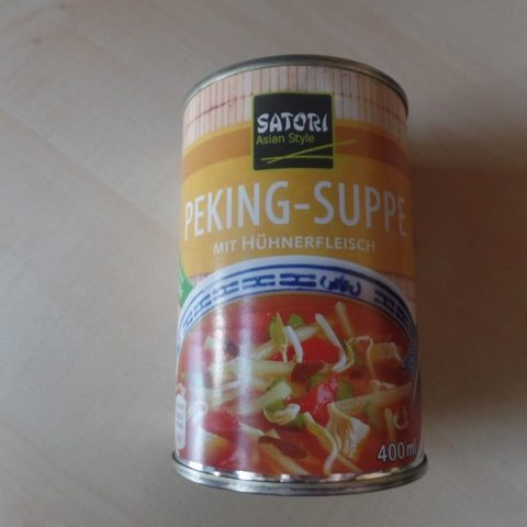 "#873: Satori ""Peking-Suppe"""