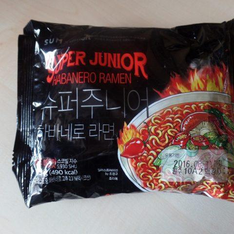 "#875: eMart ""Super Junior Habanero Ramen"""