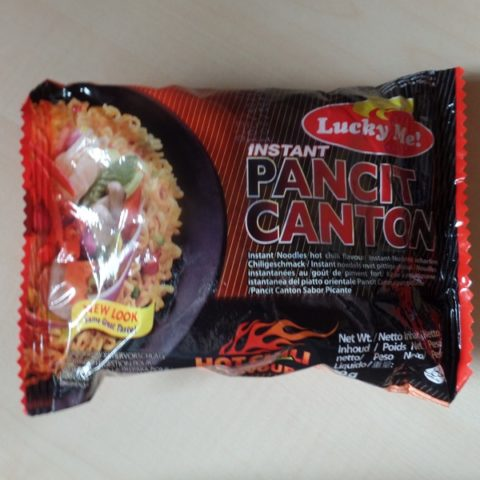"#882: Lucky Me! ""Instant Pancit Canton"" Hot Chili Flavour"