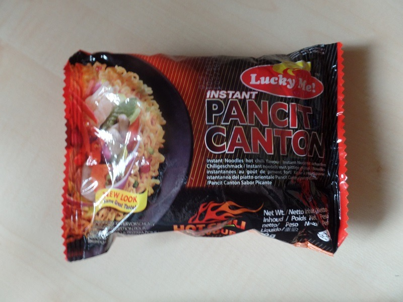 """#882: Lucky Me! """"Instant Pancit Canton"""" Hot Chili Flavour"""