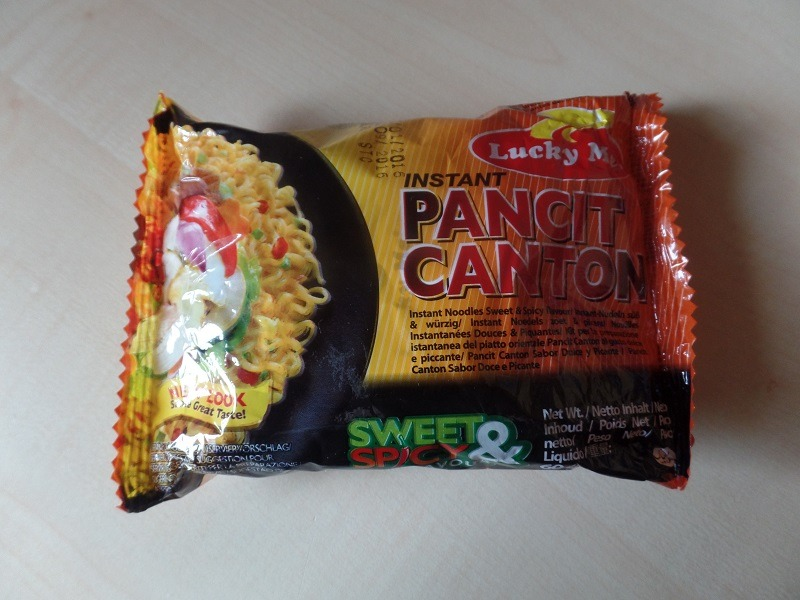 """#888: Lucky Me! """"Instant Pancit Canton"""" Sweet & Spicy Flavour"""
