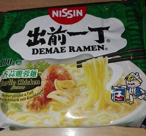 """#898: Nissin Demae Ramen """"Garlic Chicken Flavour"""""""