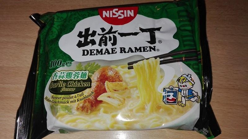 """#898: Nissin Demae Ramen """"Garlic Chicken Flavour"""" (Update 2021)"""