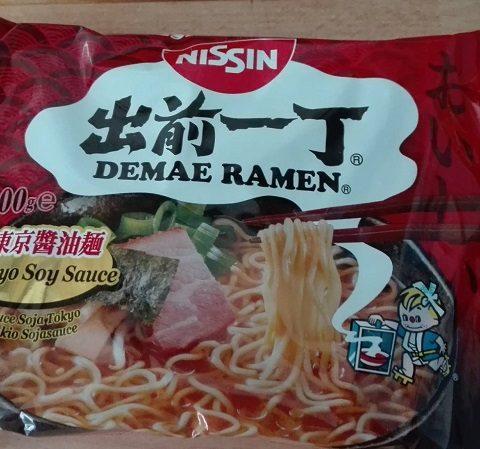Nissin Demae Ramen Soy