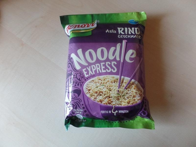 """#897: Knorr Noodle Express """"Asia Rind Geschmack"""""""