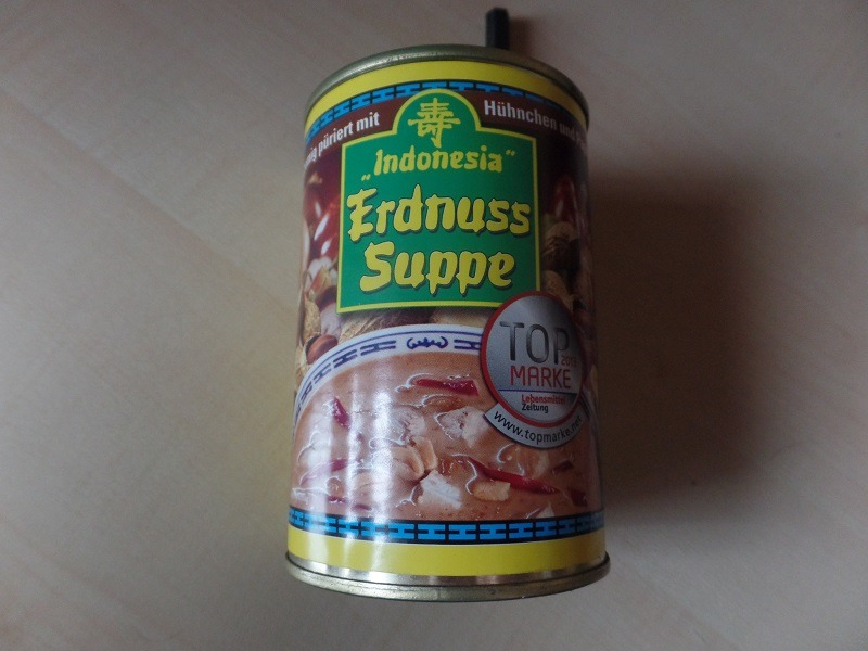 """#899: Indonesia """"Erdnuss Suppe"""""""
