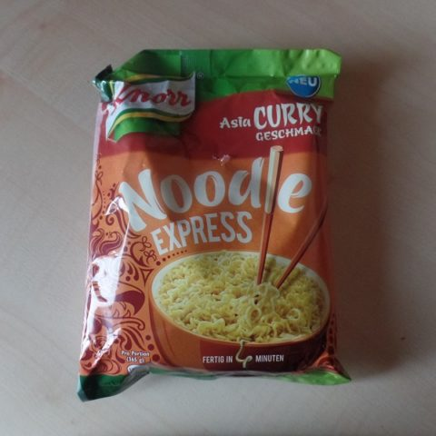 "#901: Knorr Noodle Express ""Asia Curry Geschmack"""