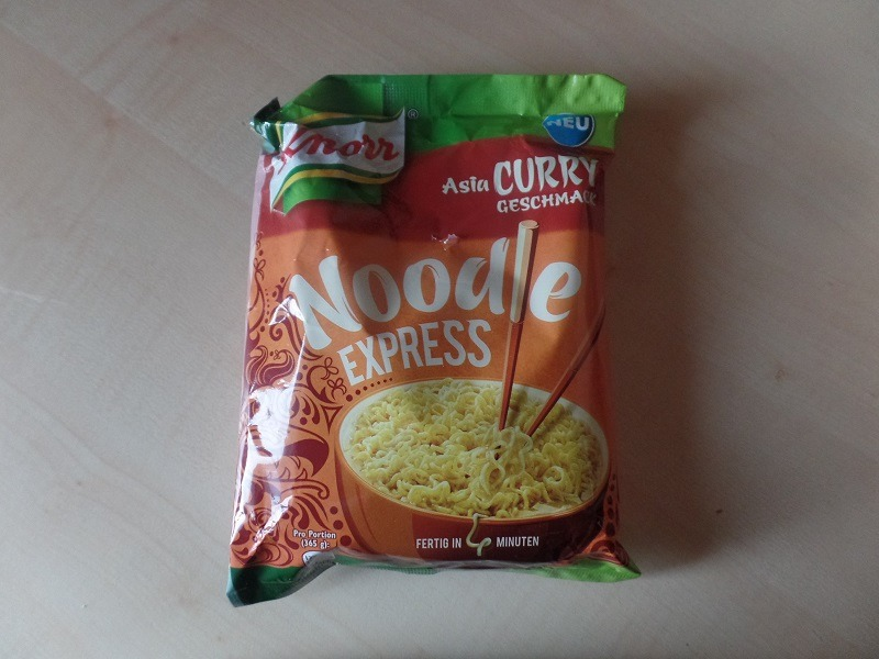 """#901: Knorr Noodle Express """"Asia Curry Geschmack"""""""
