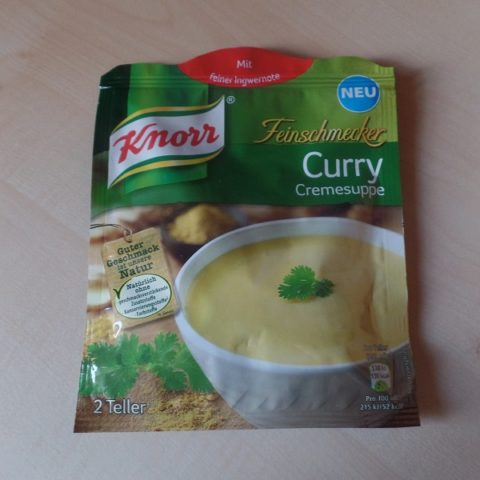 "#902: Knorr Feinschmecker ""Curry Cremesuppe"""