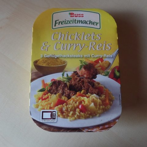"#904: Buss Freizeitmacher ""Chicklets & Curry-Reis"""