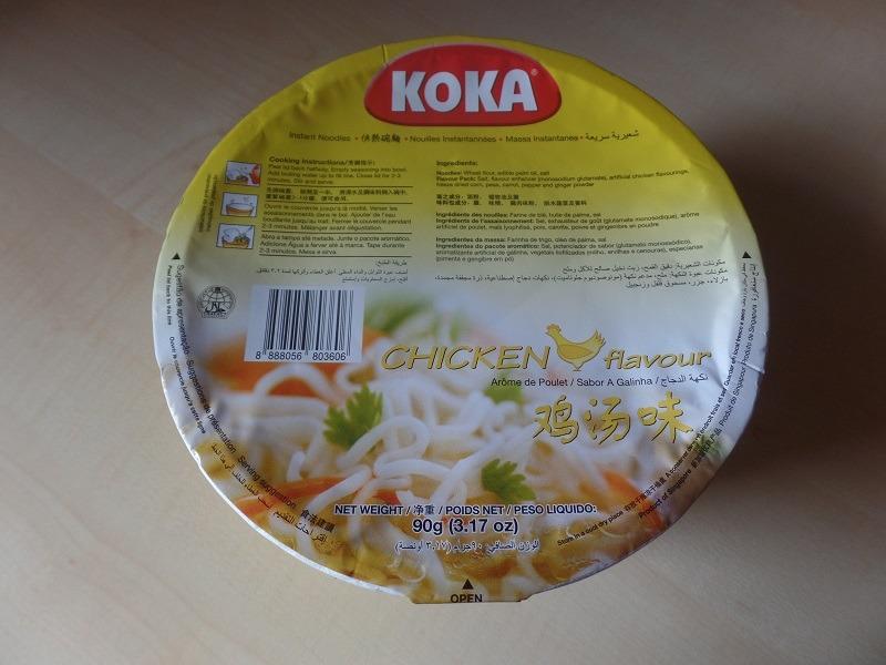 "#905: Koka Instant Noodles ""Chicken Flavour Bowl"""