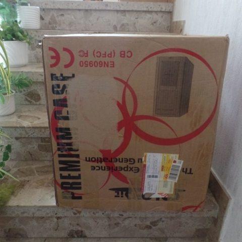 Ein gigantisches Paket aus Köln!