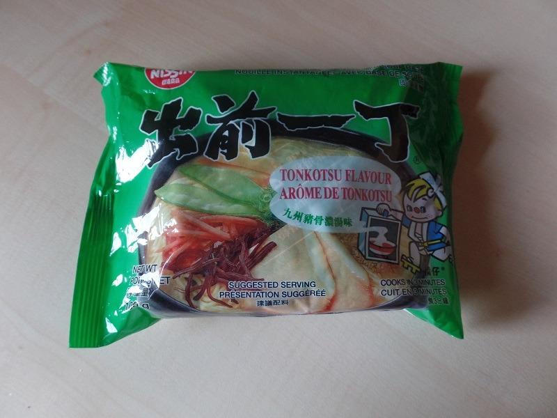"#907: Nissin Demae Ramen ""Tonkotsu Flavour"""