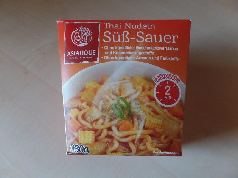 "#909: Asiatique ""Thai Nudeln Süß-Sauer"""