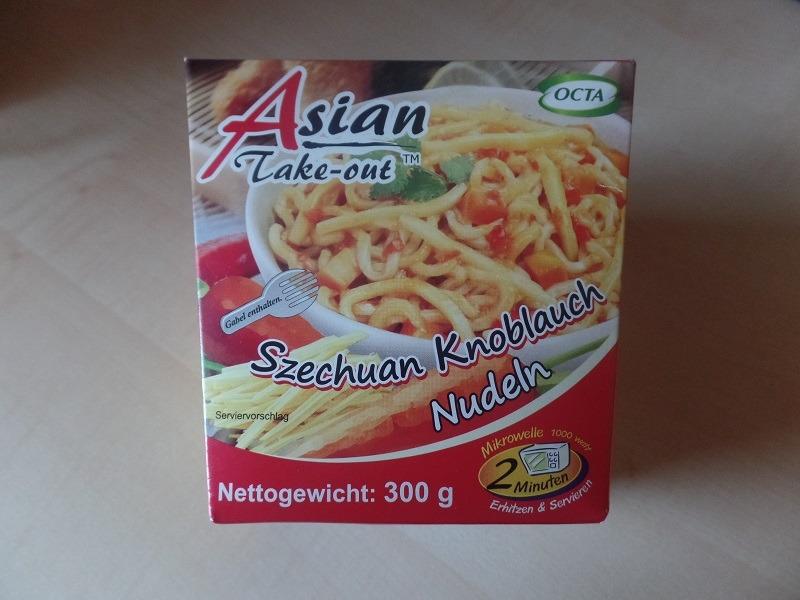 "#916: Octa Asian Take-out ""Szechuan Knoblauch Nudeln"""