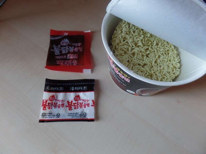 "#919: Samyang ""Buldak Bokkummyeon"" (Hot Fried Chicken) Bowl"