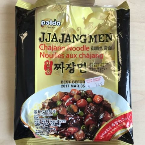 "#893: Paldo ""Jjajangmen Chajang Noodle"" (Update 2021)"