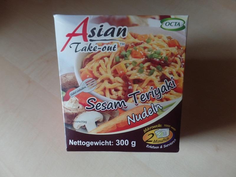 "#924: Octa Asian Take-out ""Sesam Teriyaki Nudeln"""