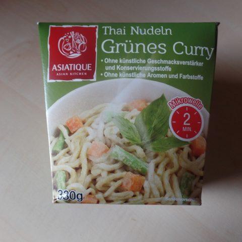 """#926: Asiatique """"Thai Nudeln Grünes Curry"""""""