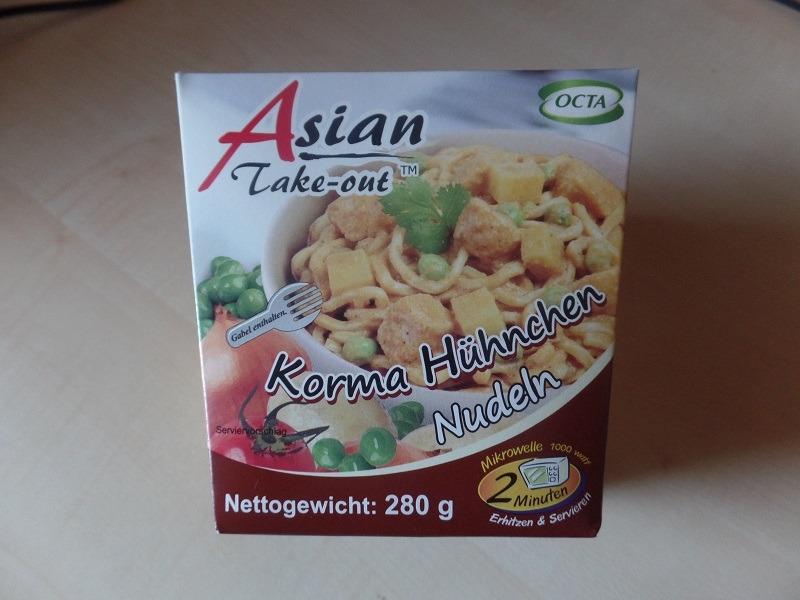 "#928: Octa Asian Take-out ""Korma Hühnchen Nudeln"""