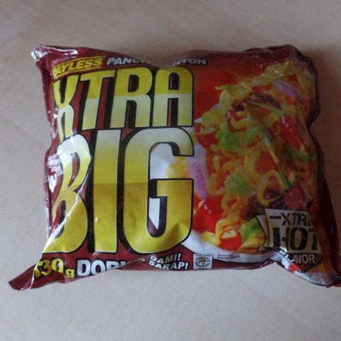 """#929: Payless Pancit Canton XTRA BIG """"Xtra Hot Flavor"""""""