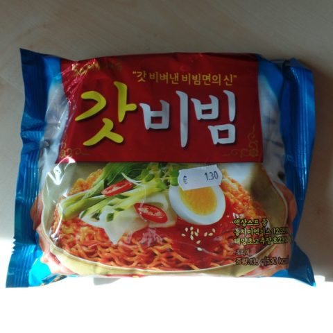 "#910: Samyang ""Bibimmyun"" Fried Noodles"