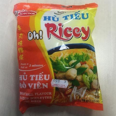 "#954: Acecook Oh! Ricey ""Hủ Tiếu Bò Viên"""