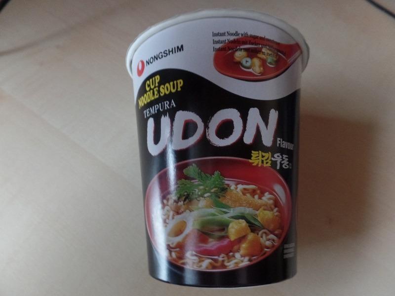 """#956: Nongshim """"Tempura Udon Flavour"""" Cup Noodle Soup"""