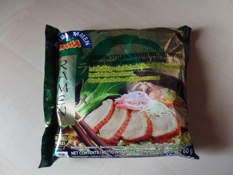 "#957: Mama Ramen ""Oriental Style Instant Noodles Duck Flavour"" (Update 2021)"