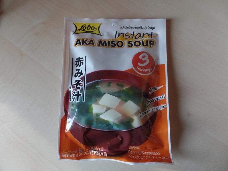 "#960: Lobo ""Instant Aka Miso Soup"" Tofu Seaweed Green Onion Flavour"