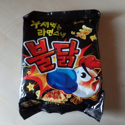 "#961: Samyang ""Hot Chicken Dessert Noodles"""