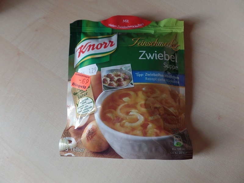 "#970: Knorr Feinschmecker ""Zwiebel Suppe"""