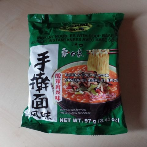 "#980: Baixiang Noodles ""Sour & Spicy Flavor"""