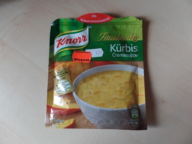 """#985: Knorr Feinschmecker """"Kürbis Cremesuppe"""""""