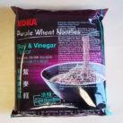 """#989: Koka Purple Wheat Noodles """"Soy & Vinegar Flavour"""" (Update 2021)"""