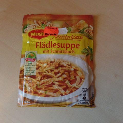 """#995: Maggi Meisterklasse """"Flädlesuppe mit Schnittlauch"""""""